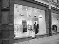 The new Chloé store opened in London.