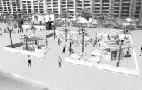A rendering of the CK Beach Oasis.