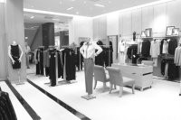 Saks Fifth Avenue's operating profits quintupled in the fourth quarter.