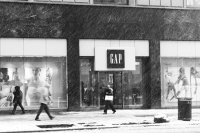 Gap Inc. was one of only a few retailers with comp increases in February but it couldn't escape the snow in New York on Thursday.