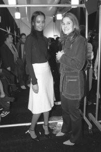 Liya Kebede and Aerin Lauder.