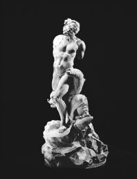 """Bernini's model for """"The Fountain of the Moor."""""""