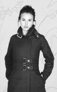 Dosty's cossack coat in canvas.c