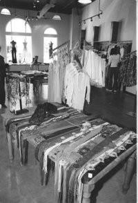 The store's interior