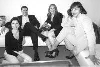 Jane Mauksch, Raymond Matts, Sharon Klein and Agnes Landau.