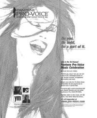 A Pantene Pro-Voice ad.