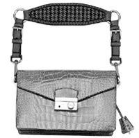 Prada's fall handbags feature interchangeable leather handles.