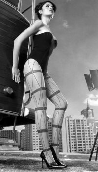 Wolford's new sheer styles include trompe l'oeil looks.