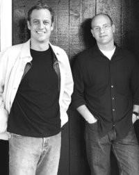 Jimmy Bradley and Danny Abrams at the Mermaid Inn.