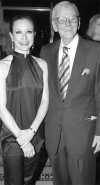 Bebe Neuwirth and Gerry Grinberg