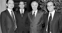 Peter Suen, Gianluca Castagnetta, Giovanni Sgariboldi and Claudio Tenan.