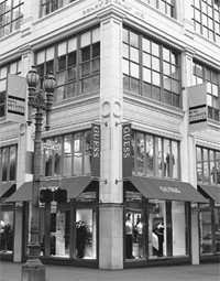 Guess Inc. said comparable-store sales at its chain of stores rose 8.7 percent in October. Here, the San Francisco unit.
