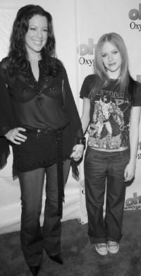 Sarah McLachlan and Avril Lavigne