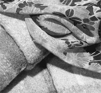 Silk fabrics at Etro.