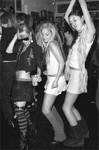 Taryn Manning, Nicole Richie and Caroline D'Amour.