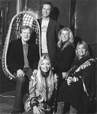 Clockwise from left: Duncan Heath, Gavin Myall, Samira Higham, Tori Edwards and Fiona Ellis.