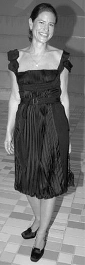 Katherine Ross in Prada.
