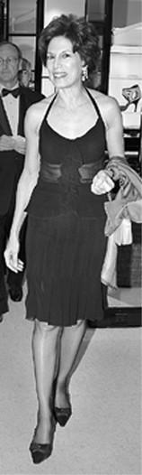 Coco Kopelman in Chanel.