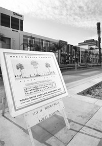 Retailers on Rodeo Drive hope $18 million worth of construction will be completed by Thanksgiving.