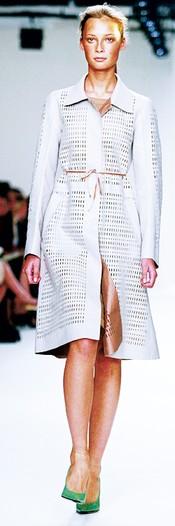 A look from Calvin Klein spring 2004.