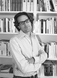 Frederic Beigbeder in his office at Flammarion.
