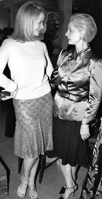 Blaine Trump in Michael Kors with Carolina Herrera.
