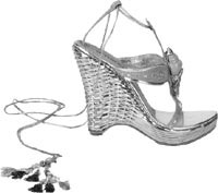 Ungaro's silver wedge.