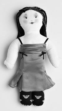 Giorgio Armani's Silvanella doll for Unicef.