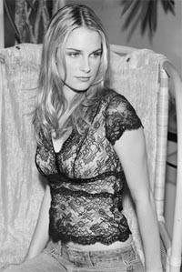 Leigh Bantivoglio's novelty lace top.