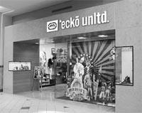Ecko Unlimited opened in the Emerald Square Mall in North Attleboro, Mass.