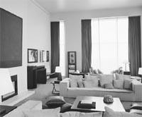 The Armani living room.