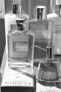 Regional Italian perfumes on display at Florence's Fragranze, now moved to October.
