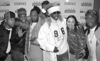 P. Diddy with Da Band.