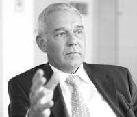 Beiersdorf ceo Rolf Kunisch.