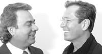 Profound founders Nikos Mouyiaris and Bob Salem.