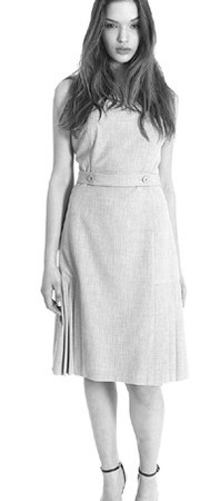 A dress with inverted pleats from Jane Street.