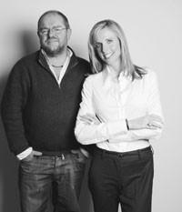 Tim Gardner and Susan Dell