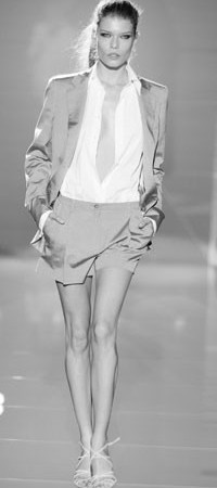 A look from Cerruti's spring 2004 show.