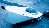 Marc Newson's Kelvin 40 prototype jet.
