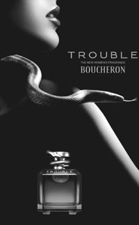 The ad for Boucheron's Trouble.