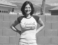 A T-shirt by 2 Jewish Cowgirls.