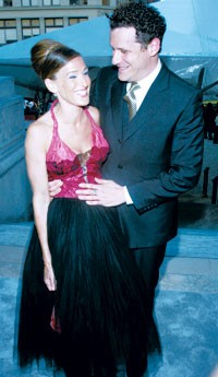 Sarah Jessica Parker in Howard Greer with Isaac Mizrahi.