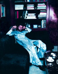 Here: Egon von Furstenberg at his Park Avenue home in 1972.