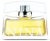 Nina Ricci's Love in Paris fragrance.