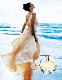The print ad for Infiniment Chopard.