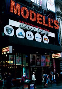 Modell's is  a big advocate for bringing the  Olympic Games to New York in 2012.