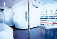 The pods inside Dermalogica's flagship.