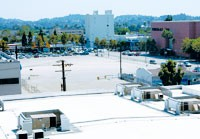 Proposed site of The Americana at Brand, next to the Glendale Galleria.