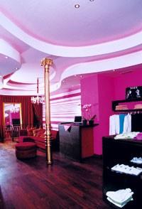 Penélope Cruz's store in Madrid.