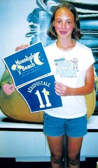 Hilary Presti won Aeropostale's design contest.